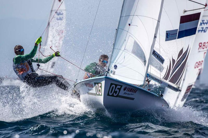 2019 470 World Championships at Enoshima, Japan - Day 5