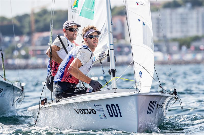 Mat Belcher and Will Ryan - 2018 World Championships Aarhus - photo © Sailing Energy