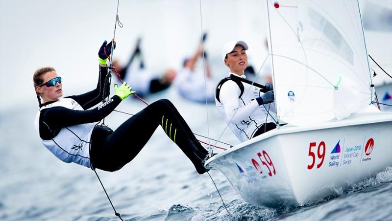 Sailing World Cup at Enoshima, Japan - photo © Sailing Energy / World Sailing