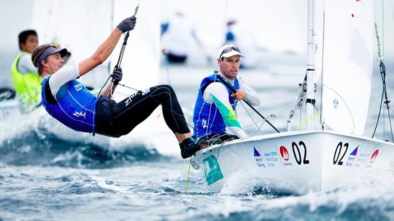 Belcher and Ryan Sailing World Cup at Enoshima, Japan - photo © Sailing Energy / World Sailing