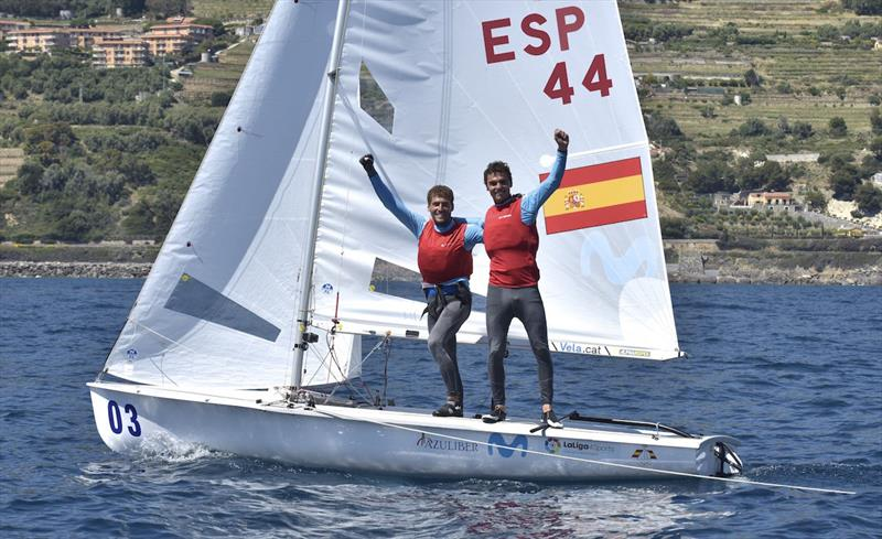 470 European Championships 2019 - photo © Gerolamo Acquarone