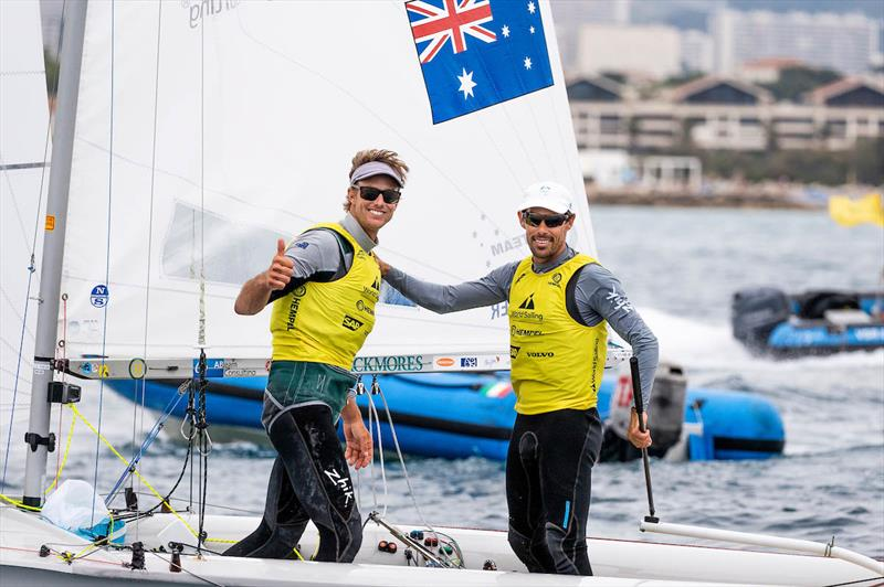 2019 Hempel World Cup Series photo copyright Sailing Energy / World Sailing taken at  and featuring the 470 class