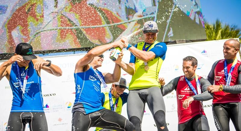 Dylan Fletcher and Stuart Bithell – World Cup Series Miami - photo © Tomas Moya / Sailing Energy / World Sailing