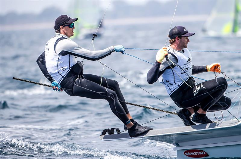 David Gilmour and Joel Turner - World Cup Series Hyères - Day 3 - photo © Jesus Renedo / Sailing Energy