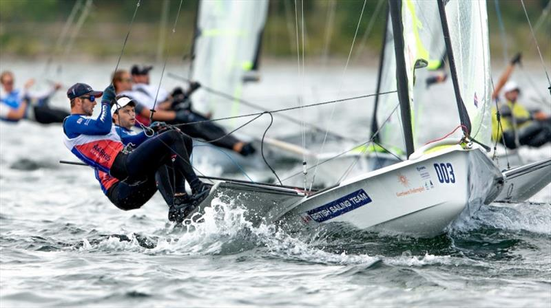 James Peters and Fynn Sterritt - photo © Sailing Energy / World Sailing