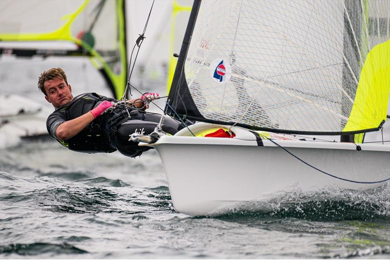 - 49er European Championship - Weymouth - Day 5  - photo © Drew Malcolm