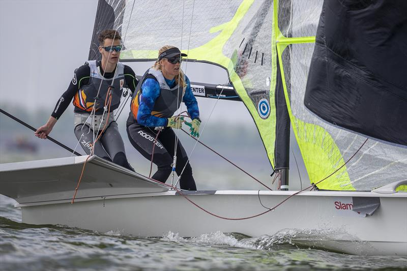 Pim Schep and Dewi Couvert, 49er (NED) - Medemblik Regatta Nautical Festival, Day 2 - photo © Sander van der Borch