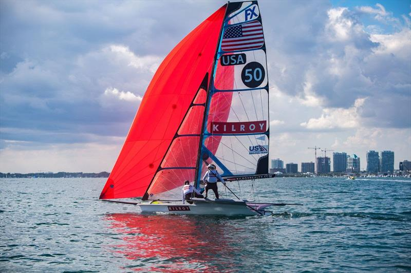 2019 Hempel World Cup Series Miami - photo © US Sailing Team