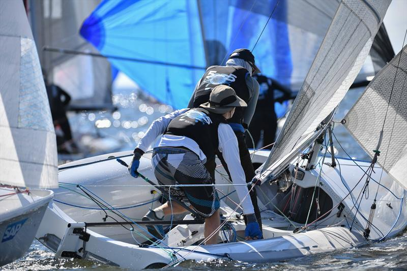 2017 SAP 5O5 Worlds at Annapolis photo copyright Bill Wagner  taken at Severn Sailing Association and featuring the 505 class