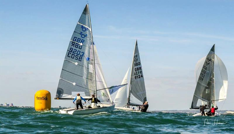 5O5 Euro Cup at Hayling Island - photo © Peter Hickson