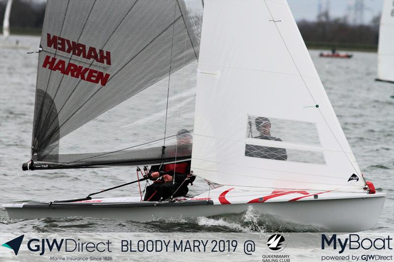 GJW Direct Bloody Mary 2019 photo copyright Mark Jardine taken at Queen Mary Sailing Club and featuring the 505 class