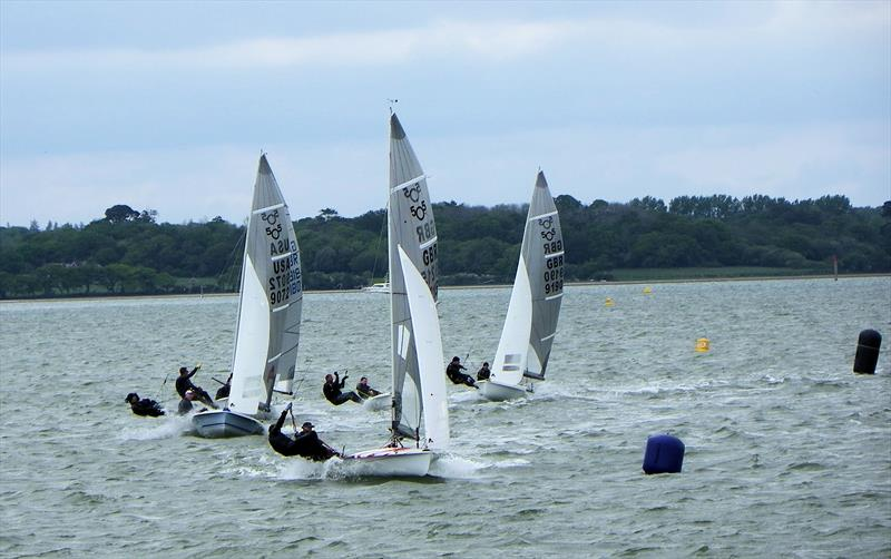 505 UK Nationals at Lymington day 1 photo copyright Neil Rabbitts taken at Royal Lymington Yacht Club and featuring the 505 class