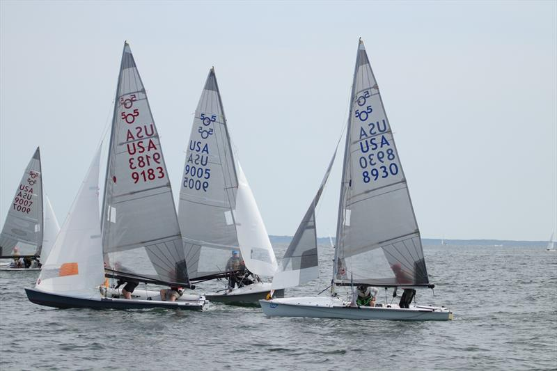 47th annual Buzzards Bay Regatta photo copyright Donald Watson / Spectrum Photo taken at New Bedford Yacht Club and featuring the 505 class