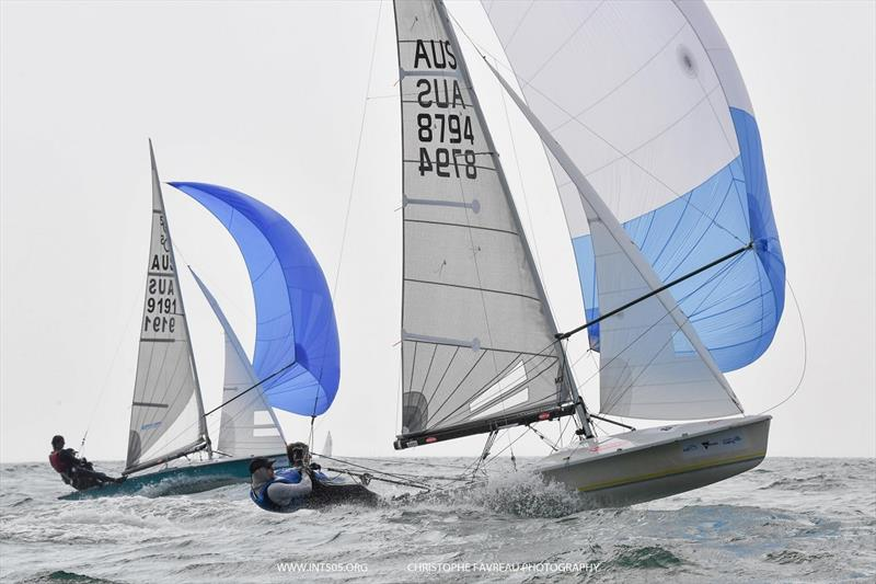 2020 Australian 505 Championship - Day 3 photo copyright Christophe Favreau taken at Royal Brighton Yacht Club and featuring the 505 class