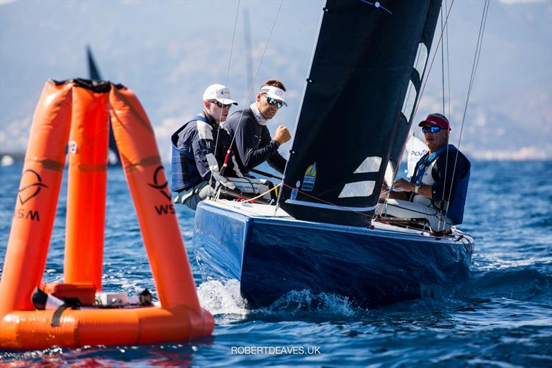 2021 5.5 Metre French Open at the Régates Royales in Cannes - Day 2