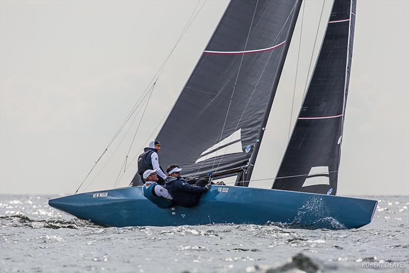 New Moon - 5.5 Metre World Championship 2019 in Helsinki - Day 5 - photo © Robert Deaves