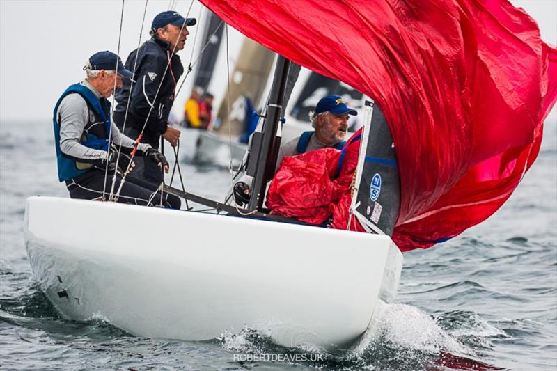 Ku-Ring-Gai - 5.5 Metre Scandinavian Gold Cup 2020, final day photo copyright Robert Deaves taken at Royal Prince Alfred Yacht Club and featuring the 5.5m class