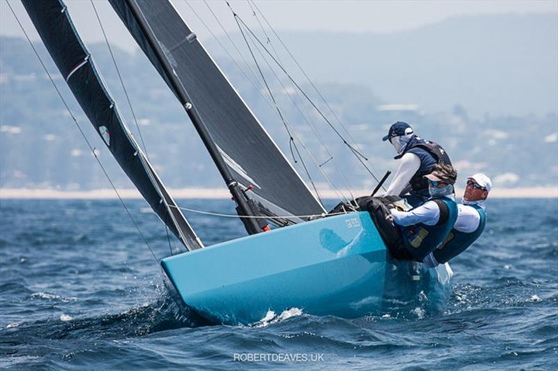 New Moon II - 2020 International 5.5 Metre World Championship, day 2 - photo © Robert Deaves
