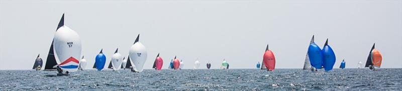 Race 2 - 2020 International 5.5 Metre World Championship, day 2 - photo © Robert Deaves