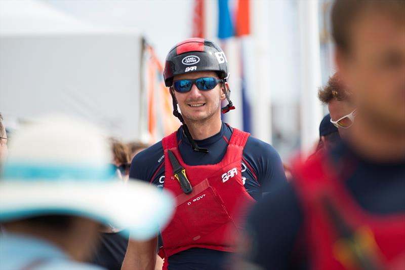 Land Rover BAR Tactician, Giles Scott on Super Sunday at Louis Vuitton America's Cup World Series Bermuda - photo © Lloyd Images