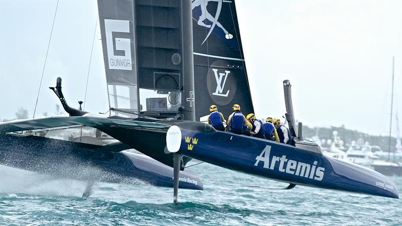 Artemis Racing - Race 2 - Finals, America's Cup Playoffs- Day 14, June 10, 2017 (ADT) - photo © Richard Gladwell