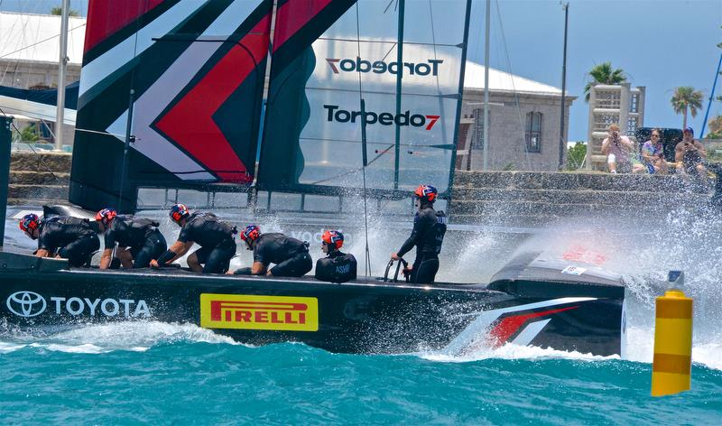 Fans in Auckland will get close up views of the America's Cup racing photo copyright Scott Stallard taken at Royal Bermuda Yacht Club and featuring the AC50 class