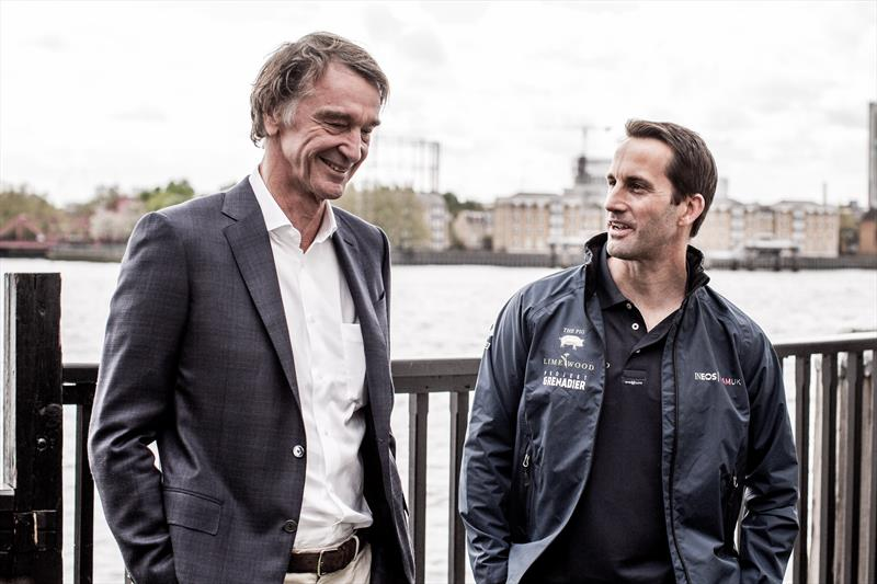 Jim Ratcliffe and Ben Ainslie - photo © HarryKH / INEOS TEAM UK