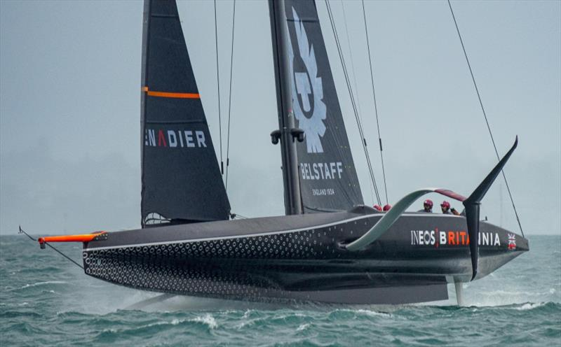 PRADA Cup Day 3: Round Robin 2 - Breezy conditions on the Hauraki Gulf for INEOS TEAM UK - photo © COR36 / Studio Borlenghi