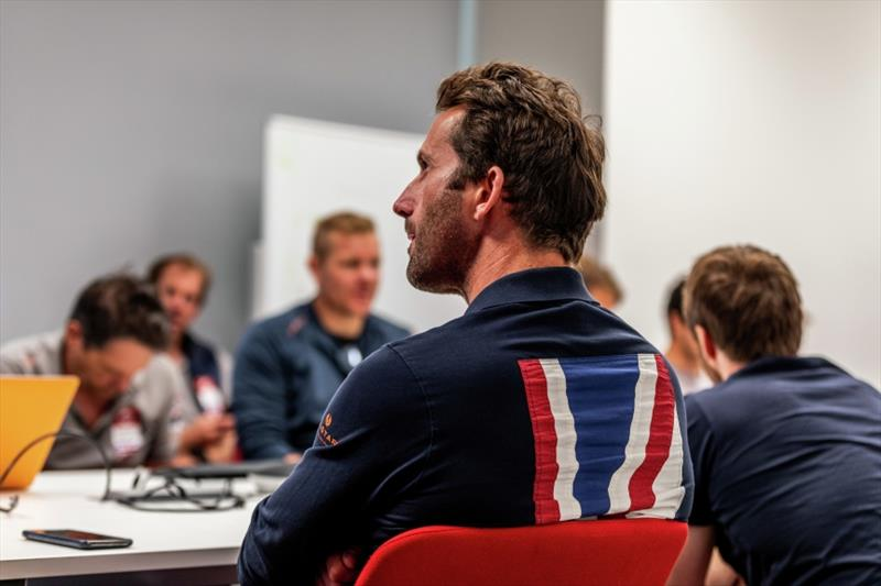 PRADA Cup Day 3: Round Robin 2 - INEOS TEAM UK analyse the day ahead of next week's racing - photo © D Wilko / INEOS TEAM UK
