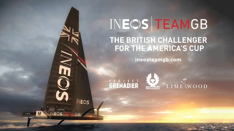 Ineos Team GB to challenge for the 2021 America's Cup - photo © Ineos Team GB