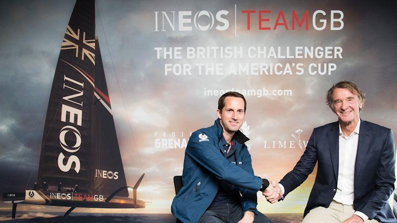 Ineos Team GB to challenge for the 2021 America's Cup - photo © Iain Gomes