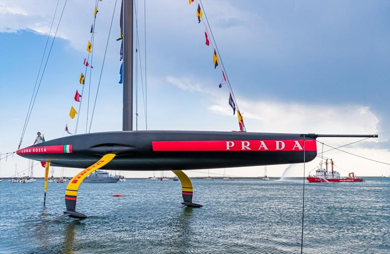 Luna Rossa Prada Pirelli - launching AC75 - Cagliari, Sardinia - October 2, 2019 - photo © Carlo Borlenghi