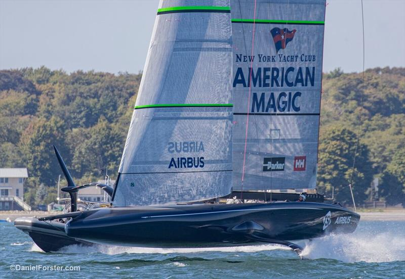 NYYC - American Magic - Newport RI - photo © Daniel Forster