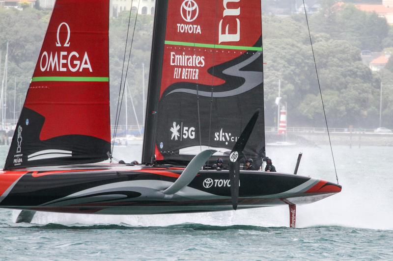 Emirates Team New Zealand - Waitemata Harbour - November 20, 2019 - photo © Richard Gladwell / Sail-World.com