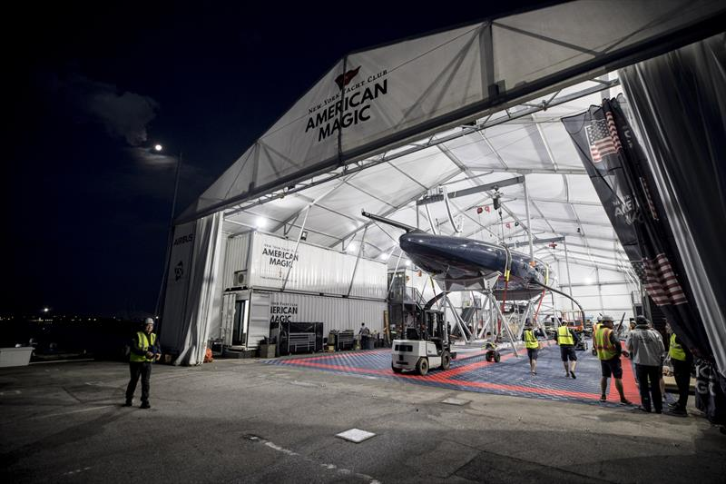 American Magic is expected to operate out of a flexible structure during the America's Cup in Auckland - Pensacola, January 2020 - photo © Will Ricketson