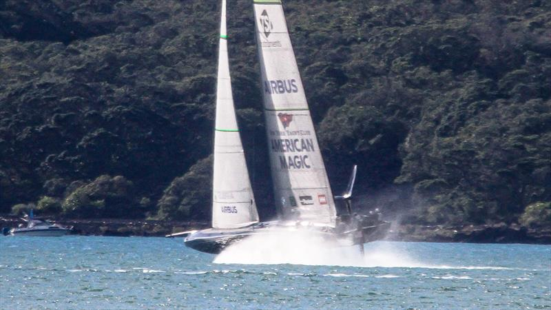 American Magic - Waitemata Harbour - Auckland - America's Cup 36 - July 27, 2020 - photo © Richard Gladwell / Sail-World.com