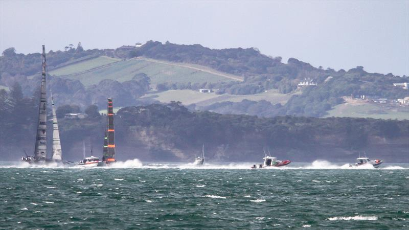 American Magic - Waitemata Habour - Auckland - America's Cup 36 - July 28, 2020 - photo © Richard Gladwell / Sail-World.com