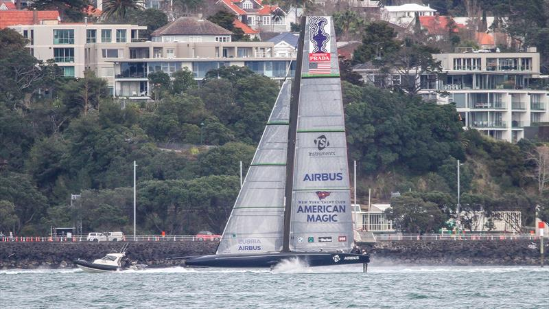 American Magic - Waitemata Harbour - Auckland - America's Cup 36 - July 30, 2020 - photo © Richard Gladwell / Sail-World.com