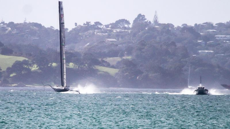 American Magic - Tamaki Strait - Auckland - August 7, 2020 - 36th America's Cup photo copyright Richard Gladwell / Sail-World.com taken at New York Yacht Club and featuring the AC75 class