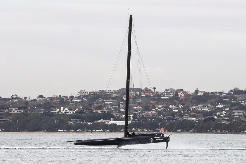 American Magic - Waitemata Habour - Auckland - America's Cup 36 - August 10, 2020 - photo © Richard Gladwell / Sail-World.com