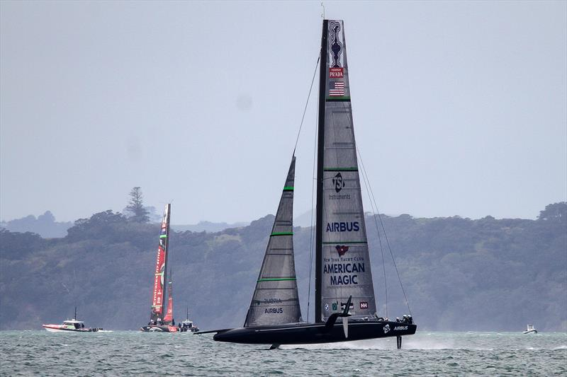 Defiant - American Magic - Waitemata Harbour - September 14, 2020 - 36th America's Cup - photo © Richard Gladwell / Sail-World.com