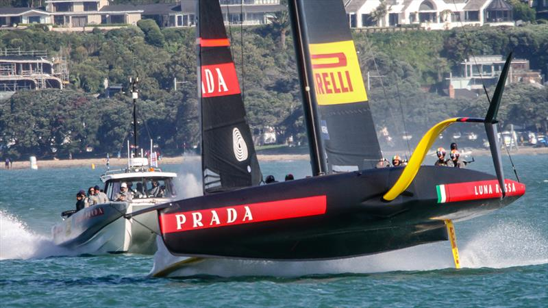 Luna Rossa Prada Pirelli - October - Waitemata Harbour - Auckland - 36th America's Cup - photo © Richard Gladwell / Sail-World.com