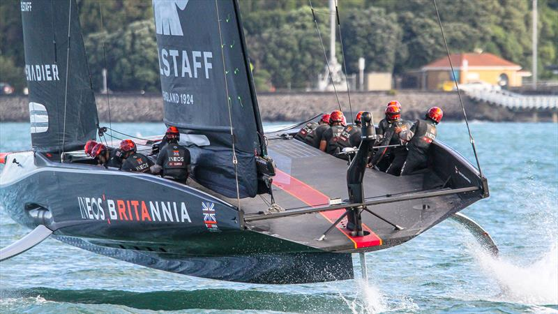 INEOS Team UK - Waitemata Harbour - November 13 2020 - 36th America's Cup - photo © Richard Gladwell / Sail-World.com