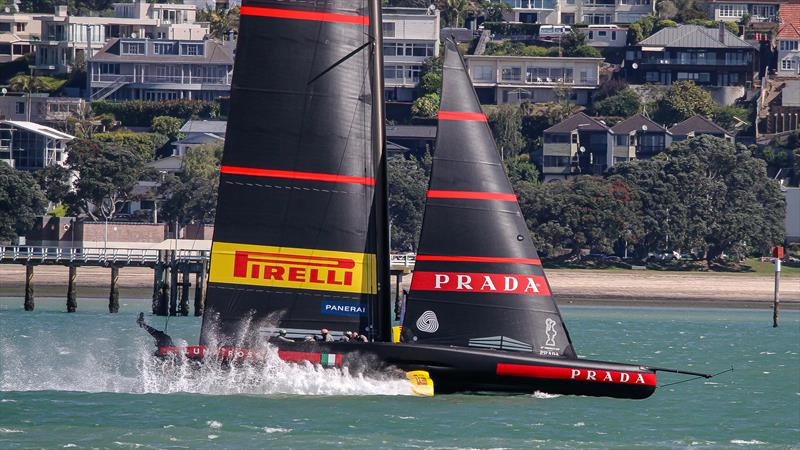 Luna Rossa - Waitemata Harbour - November 17, 2020 - 36th America's Cup - photo © Richard Gladwell / Sail-World.com