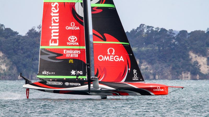 Te Rehutai, Emirates Team New Zealand - AC75 -November 23, 2020 - Waitemata Harbour - America's Cup 36 - photo © Richard Gladwell / Sail-World.com
