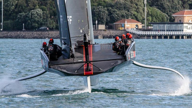 Bustle INEOS Team UK - November 2020 - Waitemata Harbour - Auckland - 36th America's Cup - photo © Richard Gladwell / Sail-World.com