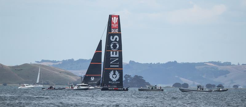 INEOS Team UK - Waitemata Harbour - January 6, 2021 - 36th America's Cup - photo © Richard Gladwell / Sail-World.com
