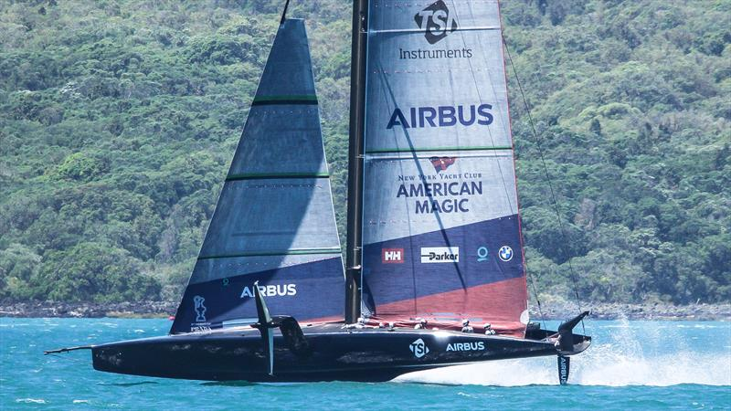 American Magic - Waitemata Harbour - January 6, 2021 - 36th America's Cup - photo © Richard Gladwell / Sail-World.com