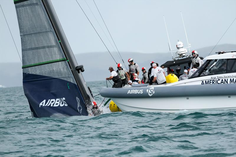 American Magic - Patriot - Hauraki Gulf - January 17, 2021 - Prada Cup - 36th America's Cup - photo © Richard Gladwell / Sail-World.com
