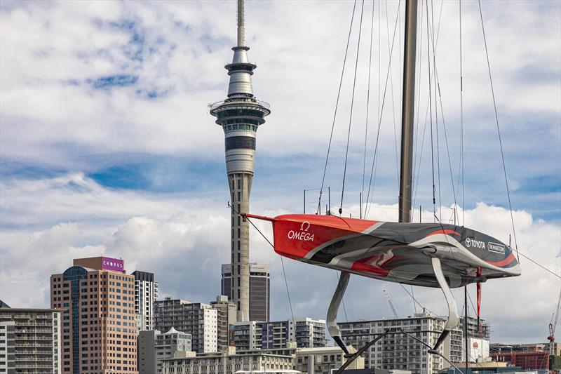 The AC75's are required to declare which hull, mast tube, rudder, wings, foil arms and flaps by Monday March 1, 2021 - America's Cup - photo © COR 36 | Studio Borlenghi
